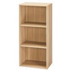 DCMブランド カラーボックス 3段/DCM-FCB9045 OA オーク/41.5X29X88.4cm