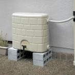 タキロン 雨水貯留タンク 雨音くん/タンク容量:120リットル 本体:みかげ色 集水継手:黒色/タンク容量:120L