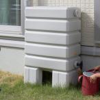 タキロン 雨水貯留タンク アメマルシェ/タンク容量:120リットル 集水継手:ジェットライン専用 本体:みかげ色 集水継手:黒色/タンク容量:120L