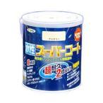アサヒペン 水性スーパーコート/1.6L 黒 黒