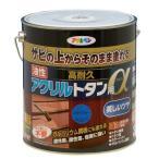 アサヒペン 油性高耐久アクリルトタン用α スカイブルー/3kg