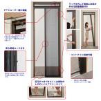 seiki 玄関用網戸 ドアーモ/DRM-189 W62?92cm