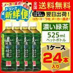 綾鷹 濃い緑茶 525ml 24本入1ケース/お茶 緑茶 PET ペットボトル コカ・コーラ社/メーカー直送 送料無料