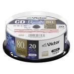Victor 音楽用CD-R 20枚 700MB インクジェットプリンター対応 AR80FP20SJ1