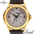 Deal/K18YG/パテックフィリップ/トラベルタイム/手巻/メンズ/5134J-011
