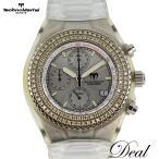 ベゼルダイヤ Techno Marine テクノマリーン テクノダイヤモンド クロノグラフ 腕時計