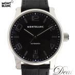 MONT BLANC モンブラン タイムウォーカー 7188 自動巻 黒 メンズ 腕時計