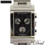 BVLGARI ブルガリ レッタンゴロ クロノ RTC49S クォーツ 腕時計 メンズ