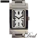 BVLGARI ブルガリ レッタンゴロ RT45S 白 自動巻 腕時計 メンズ