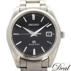 SEIKO セイコー グランドセイコー SBGX061 9F62-0AB0 クォーツ 黒 メンズ 腕時計