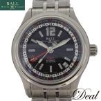 未使用 保管品 BALLWATCH ボールウォッチ トレインマスターGMT GM1038C-SJ-BK メンズ 腕時計