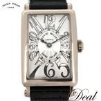 Deal FRANCK MULLER フランクミュラー WG製 ロングアイランド レリーフ 902QZ レディース 腕時計 300本限定