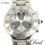 カルティエ マスト21 クロノスカフ W10172T2 メンズ 腕時計
