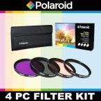【送料無料】ポラロイド Polaroid Optics 4 Piece Filter Set (UV, CPL, FLD, WARMING) For The Olympus OM-D E-M5, E-M1, E-M10, E-P5, PEN-E-PL3, PEN-E-PL5,