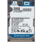 WD WD3200BEVE-00A0HT0, DCM HACT2BNB, Western Digital 320GB IDE 2.5 Hard Drive 輸入品