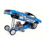 【送料無料】ミニカー Larry Arnolds's Cuda King Fish, Blue - Auto World AW1173 - 1/18 Scale Diecast Model Toy Car 輸入品