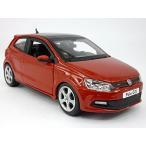 フォルクスワーゲン ミニカー Volkswagen VW Polo GTI Mark 5 (Mk5) 1/24 Scale Diecast Model - RED 輸入品