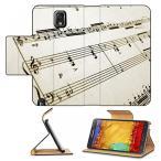 サンバ コスチューム Liili Premium Samsung Galaxy Note 3 Flip Pu Leather Wallet Case Flute Music with Piano Accompaniment Photo 209011 Simple Snap