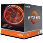 ����̵�� AMD Ryzen 9 3900X AM4/Box 100-100000023BOX with Wraith Prism cooler����Ź�ݾ�3ǯ��(����Υ����������)