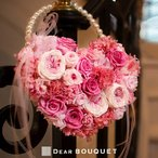 バッグブーケ プリザーブドフラワー 結婚式 花 鞄 披露宴 お色直し 2次会 前撮り パーティ