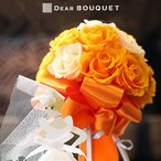 Yahoo!DearBouquet結婚式 ウェディングブーケ ラウンドスタイル ウェディング 結婚祝い ブライダル プリザーブドフラワー