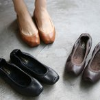 ショッピングフラット フラットシューズ パンプス レディース ぺたんこ ペタンコ 靴 婦人靴 黒 ブラック ブラウン