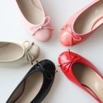 ショッピングバレエシューズ フラットシューズ パンプス リボン レディース バレエシューズ ローヒール 靴 婦人靴 黒 ブラック グレー ピンク