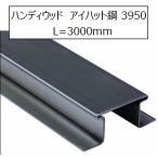 ハンディウッド 下地材アイハット鋼 3590 L=3000mm メッキ色