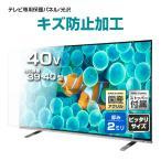 液晶テレビ保護パネル40型(40インチ)ハードコートパネル『厚2ミリ通常タイプ』 採寸不要!