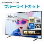 液晶テレビ保護パネル65インチ(65型)UV・ブルーライトカットパネル『厚2ミリ通常タイプ』 採寸不要!