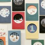 【特別価格】クリスマスカード Christmas Card  1枚入り【メール便対応】