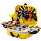 知育玩具  整備工具セット ツールセット ごっこセット 大工セット ホームツール箱
