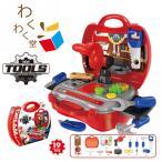 知育玩具 ままごと 大工さんごっこセット キットロールプレイング  ホームツール箱 整備工具セット