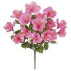 光触媒 トロピカルハイビスカスブッシュx16 ピンク  造花 アートフラワー