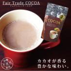 ココアパウダー 無糖( 第3世界ショップ ココア 130g )フェアトレード オーガニックカカオ 砂糖不使用 ホットドリンク