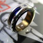 指輪 リング メンズ レディース シルバー チタン アクセサリー ハンドメイド アクセサリー Crystallization