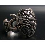 指輪 リング カメ 亀 メンズ シルバー ハンドメイド tarausel