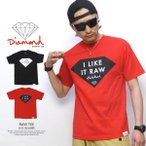 ダイヤモンドサプライ Diamond Supply Co. Tシャツ メンズ コラボ RAW TEE×ODB 春