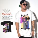 ダイヤモンドサプライ×ザ・ビートルズ Diamond Supply Co.×THE BEATLES Tシャツ メンズ 限定コラボ FAB FOUR TEE 2016秋冬新作