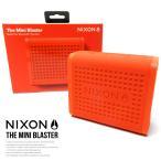 NIXON ニクソン Bluetooth対応 ワイヤレス防水スピーカー ハンズフリーマイク搭載 THE MINI BLASTER ザ・ミニブラスター レッドペッパー 秋冬