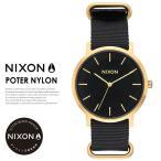 NIXON ニクソン 腕時計 メンズ PORTER NYLON ポーター ナイロン A1059513 ゴールドブラック