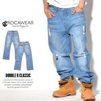 ロカウェア ROCAWEAR デニム ジーンズ メンズ 大きいサイズ DOUBLE R CLASSIC 秋冬