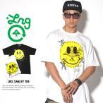 ショッピングLRG LRG エルアールジー Tシャツ メンズ 半袖 大きいサイズ LRG SMILEY TEE