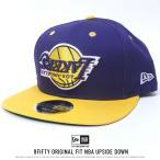 ニューエラ キャップ 帽子 NEW ERA 9FIFTY オリジナルフィット アップサイドダウン ロサンゼルス・レイカーズ パープル 11557228