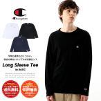 チャンピオン Champion ロンT 長袖Tシャツ メンズ レディース ベーシック ロングスリーブTシャツ ワンポイントロゴ C3-P401