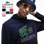 ラコステ プルオーバーパーカー メンズ 裏毛スウェット USAモデル LACOSTE フーデッド フリース スウェットシャツ (SH6342)
