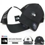ノースフェイス (THE NORTH FACE) メッシュキャップ 帽子 メンズ レディース USAモデル TNFボックスロゴトラッカー (NF0A3FKX)