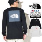 ノースフェイス (THE NORTH FACE) ロンT 長袖Tシャツ メンズ USAモデル レッドボックスロングスリーブTシャツ (NF0A4M4Q)