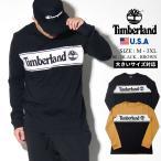 ティンバーランド ロンT 長袖Tシャツ メンズ USAモデル TImberland ロングスリーブ カラーブロック ライナーロゴ Tシャツ