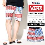 VANSバンズボードショーツサーフパンツ水着メンズ星条旗柄USA企画DIVEBOMBBOARDSHORT